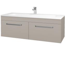 Dreja - Kúpeľňová skriňa ASTON SZZ2 120 - N07 Stone / Úchytka T01 / N07 Stone (200367A)