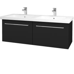 Dreja - Kúpeľňová skriňa BIG INN SZZ2 125 - N08 Cosmo / Úchytka T04 / N08 Cosmo (201692E)