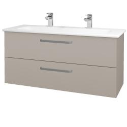 Dreja - Kúpeľňová skriňa GIO SZZ2 120 - N07 Stone / Úchytka T01 / N07 Stone (203054AU)