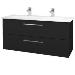 Dreja - Kúpeľňová skriňa GIO SZZ2 120 - N08 Cosmo / Úchytka T04 / N08 Cosmo (203061EU)