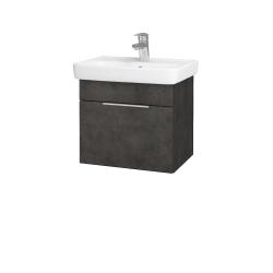 Dreja - Kúpeľňová skriňa SOLO SZZ 50 - D16  Beton tmavý / Úchytka T05 / D16 Beton tmavý (205263F)