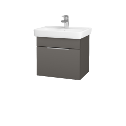 Dreja - Kúpeľňová skriňa SOLO SZZ 50 - N06 Lava / Úchytka T05 / N06 Lava (205416F)