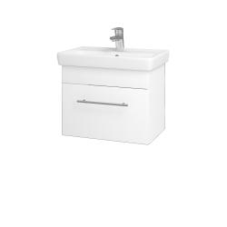 Dreja - Kúpeľňová skriňa SOLO SZZ 55 - M01 Bílá mat / Úchytka T02 / M01 Bílá mat (205485B)