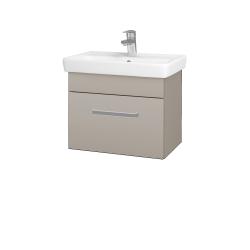 Dreja - Kúpeľňová skriňa SOLO SZZ 55 - N07 Stone / Úchytka T01 / N07 Stone (205621A)