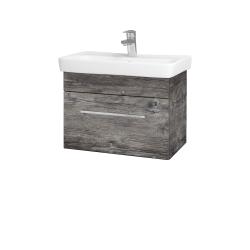 Dreja - Kúpeľňová skriňa SOLO SZZ 60 - D10 Borovice Jackson / Úchytka T04 / D10 Borovice Jackson (205645E)
