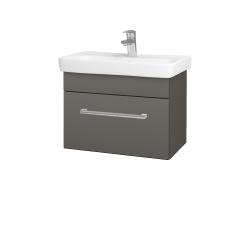 Dreja - Kúpeľňová skriňa SOLO SZZ 60 - N06 Lava / Úchytka T03 / N06 Lava (205812C)