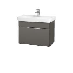 Dreja - Kúpeľňová skriňa SOLO SZZ 60 - N06 Lava / Úchytka T05 / N06 Lava (205812F)