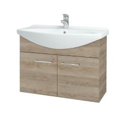 Dreja - Kúpeľňová skriňa TAKE IT SZD2 85 - D17 Colorado / Úchytka T04 / D17 Colorado (206192E)