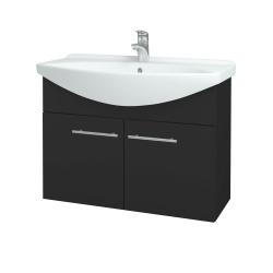 Dreja - Kúpeľňová skriňa TAKE IT SZD2 85 - N03 Graphite / Úchytka T02 / N03 Graphite (206284B)