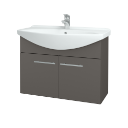 Dreja - Kúpeľňová skriňa TAKE IT SZD2 85 - N06 Lava / Úchytka T02 / N06 Lava (206291B)