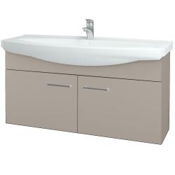Dreja - Kúpeľňová skriňa TAKE IT SZD2 120 - N07 Stone / Úchytka T03 / N07 Stone (206628C)