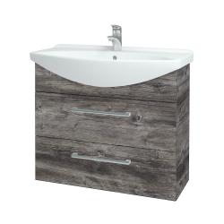 Dreja - Kúpeľňová skriňa TAKE IT SZZ2 85 - D10 Borovice Jackson / Úchytka T03 / D10 Borovice Jackson (207762C)