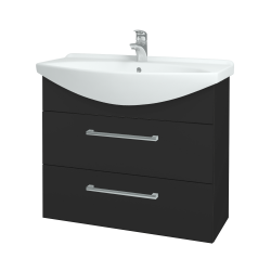 Dreja - Kúpeľňová skriňa TAKE IT SZZ2 85 - N03 Graphite / Úchytka T03 / N03 Graphite (207885C)
