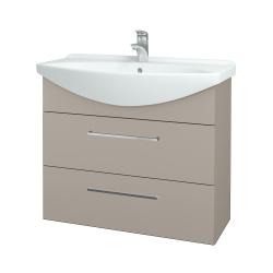 Dreja - Kúpeľňová skriňa TAKE IT SZZ2 85 - N07 Stone / Úchytka T04 / N07 Stone (207908E)