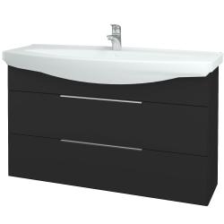 Dreja - Kúpeľňová skriňa TAKE IT SZZ2 120 - N03 Graphite / Úchytka T05 / N03 Graphite (208202F)