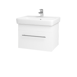 Dreja - Kúpeľňová skriňa Q UNO SZZ 60 - M01 Bílá mat / Úchytka T02 / M01 Bílá mat (208486B)