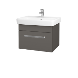 Dreja - Kúpeľňová skriňa Q UNO SZZ 60 - N06 Lava / Úchytka T01 / N06 Lava (208615A)