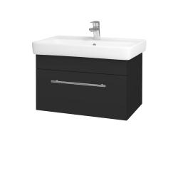 Dreja - Kúpeľňová skriňa Q UNO SZZ 70 - N03 Graphite / Úchytka T02 / N03 Graphite (208806B)