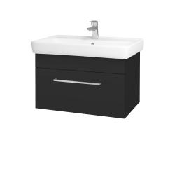 Dreja - Kúpeľňová skriňa Q UNO SZZ 70 - N03 Graphite / Úchytka T04 / N03 Graphite (208806E)