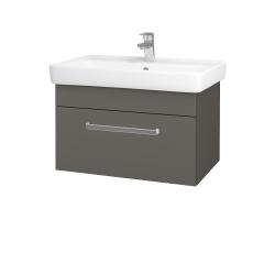Dreja - Kúpeľňová skriňa Q UNO SZZ 70 - N06 Lava / Úchytka T01 / N06 Lava (208813A)