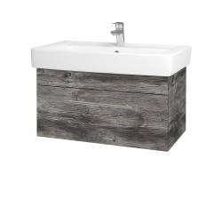 Dreja - Kúpeľňová skriňa Q UNO SZZ 80 - D10 Borovice Jackson / Úchytka T02 / D10 Borovice Jackson (208844B)