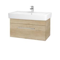 Dreja - Kúpeľňová skriňa Q UNO SZZ 80 - D15 Nebraska / Úchytka T04 / D15 Nebraska (208851E)