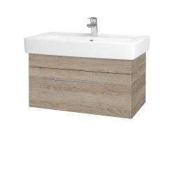 Dreja - Kúpeľňová skriňa Q UNO SZZ 80 - D17 Colorado / Úchytka T02 / D17 Colorado (208875B)