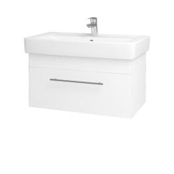 Dreja - Kúpeľňová skriňa Q UNO SZZ 80 - M01 Bílá mat / Úchytka T02 / M01 Bílá mat (208882B)