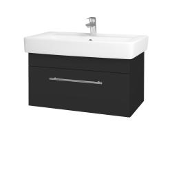 Dreja - Kúpeľňová skriňa Q UNO SZZ 80 - N03 Graphite / Úchytka T02 / N03 Graphite (209001B)