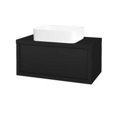 Dreja - Kúpeľňová skriňa STORM SZZ 80 (umývadlo Joy) - N08 Cosmo / N08 Cosmo (213237)