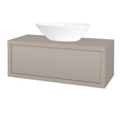 Dreja - Kúpeľňová skriňa STORM SZZ 100 (umývadlo Triumph) - N07 Stone / N07 Stone (220198)