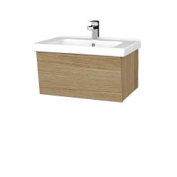 Dreja - Kúpeľňová skriňa INVENCE SZZ 65 (umývadlo Harmonia) - A01 Dub (masiv) / A01 Dub (masiv) (250331)