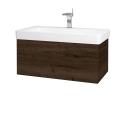 Dreja - Kúpeľňová skriňa VARIANTE SZZ 85 - D21 TOBACCO / D21 Tobacco (259341)