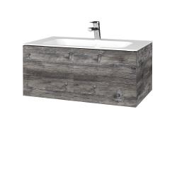 Dreja - Kúpeľňová skriňa VARIANTE SZZ 80 - D10 Borovice Jackson / D10 Borovice Jackson (268121)