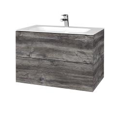 Dreja - Kúpeľňová skriňa VARIANTE SZZ2 80 - D10 Borovice Jackson / D10 Borovice Jackson (268596)