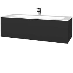 Dreja - Kúpeľňová skriňa VARIANTE SZZ 120 - N03 Graphite / N03 Graphite (270094)