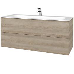Dreja - Kúpeľňová skrinka VARIANTE SZZ2 120 - D17 Colorado / D17 Colorado (270506)