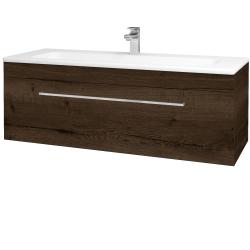 Dreja - Kúpeľňová skriňa ASTON SZZ 120 - D21 TOBACCO / Úchytka T04 / D21 Tobacco (276799E)