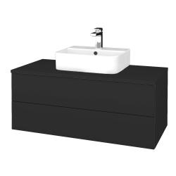 Dreja - Kúpeľňová skrinka MODULE SZZ2 100 - N03 Graphite / N03 Graphite (299453)