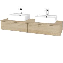 Dreja - Kúpeľňová skrinka MODULE SZZ2 140 - D15 Nebraska / D15 Nebraska (302665)