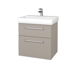 Dreja - Kúpeľňová skrinka PROJECT SZZ2 60 - N07 Stone / Úchytka T03 / N07 Stone (322571C)