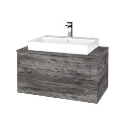 Dreja - Kúpeľňová skrinka MODULE SZZ2 80 - D10 Borovice Jackson / D10 Borovice Jackson (333706)