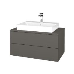 Dreja - Kúpeľňová skrinka MODULE SZZ2 80 - N06 Lava / N06 Lava (333805)