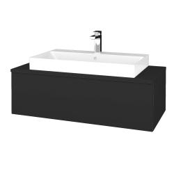 Dreja - Kúpeľňová skrinka MODULE SZZ1 100 - N03 Graphite / N03 Graphite (334819)