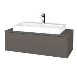 Dreja - Kúpeľňová skrinka MODULE SZZ1 100 - N06 Lava / N06 Lava (334826)