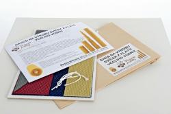 KOUPELNYMOST - Sada na výrobu sviečok z farebných plátov včelieho vosku-027 (VOSK-0027), fotografie 4/3