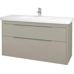 Dreja - Kúpeľňová skriňa ENZO SZZ2 120 - M05 Béžová mat / M05 Béžová mat (146542)