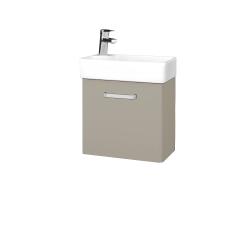Dreja - Kúpeľňová skriňa DOOR SZD 44 - L04 Béžová vysoký lesk / Úchytka T01 / L04 Béžová vysoký lesk / Levé (151669A)