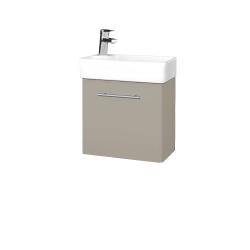 Dreja - Kúpeľňová skriňa DOOR SZD 44 - L04 Béžová vysoký lesk / Úchytka T02 / L04 Béžová vysoký lesk / Pravé (151669BP)