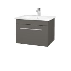 Dreja - Kúpeľňová skriňa ASTON SZZ 60 - N06 Lava / Úchytka T02 / N06 Lava (199265B)